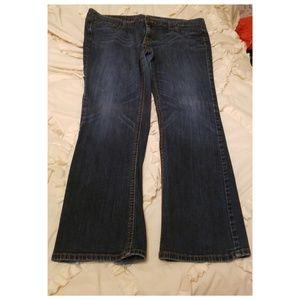 *Mossimo Premium Denim Plus Size Bootcut Jeans*